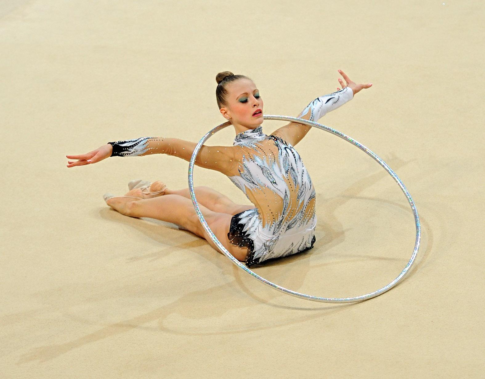 Макияж для выступлений по художественной гимнастике фото